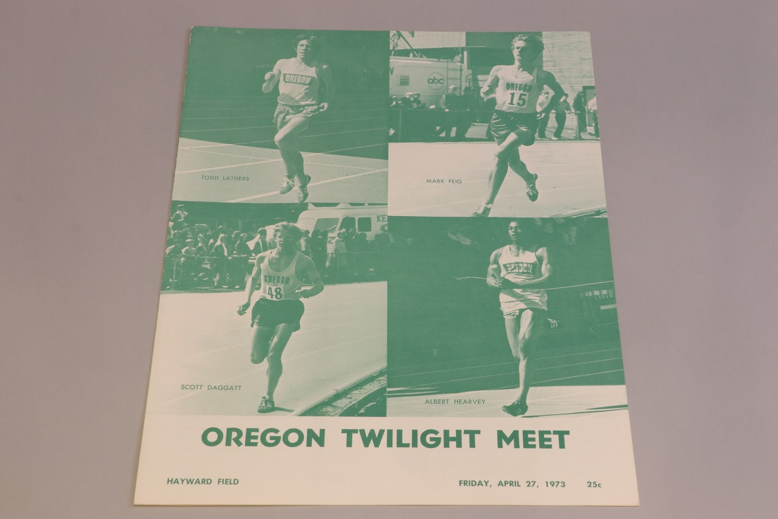 1973 Twilight Meet Program