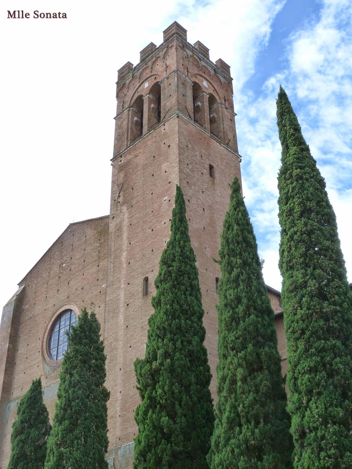 Voyage Italie Sienne Basilique San Domenico
