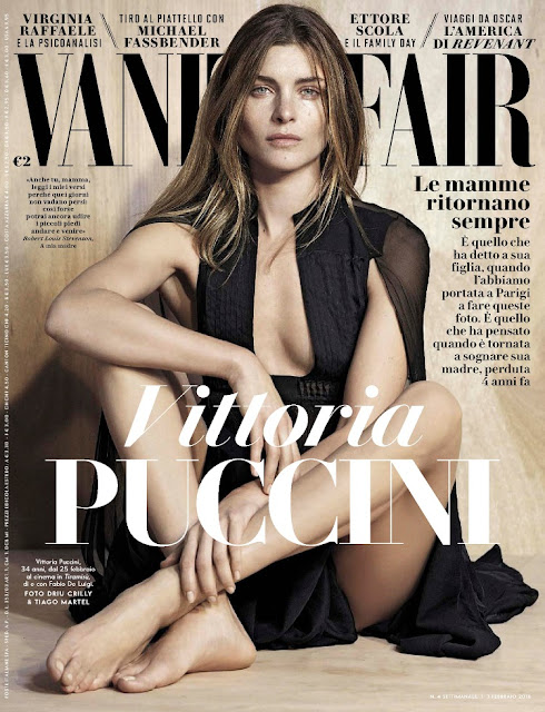 Actress, @ Vittoria Puccini - Vanity Fair Italia, February 2016