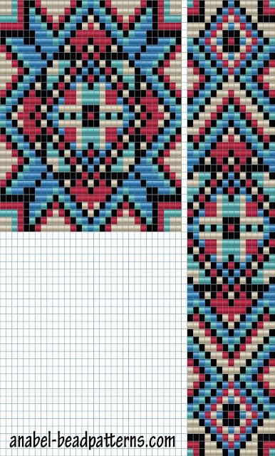 схема гердана бисерные схемы узоры для ткачества