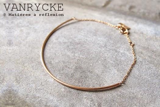 Bracelet Vanrycke Calamity Jane or rose 18k