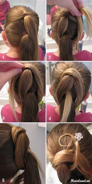 Причёски своими руками в домашних условиях на выпускной