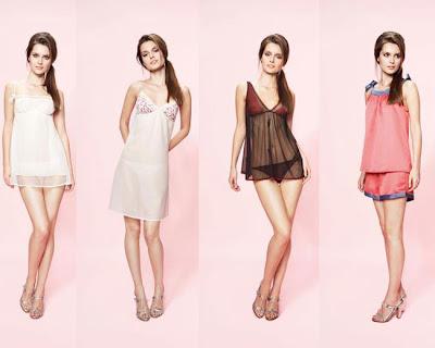 Lenceria Vanity Fair verano 2012