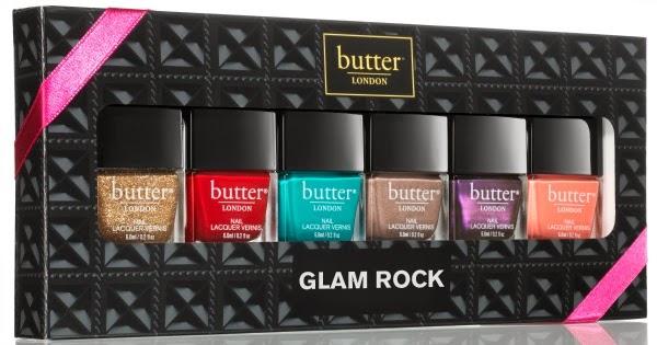 butter London Glam Rock (Minis) - limitiert Weihnachts Set