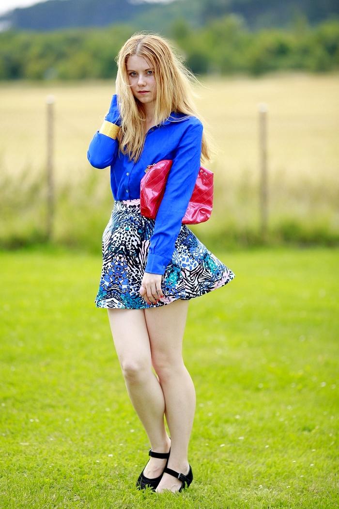 česká blogerka, lucie srbová, jak vypadat trendy, kombinace barev