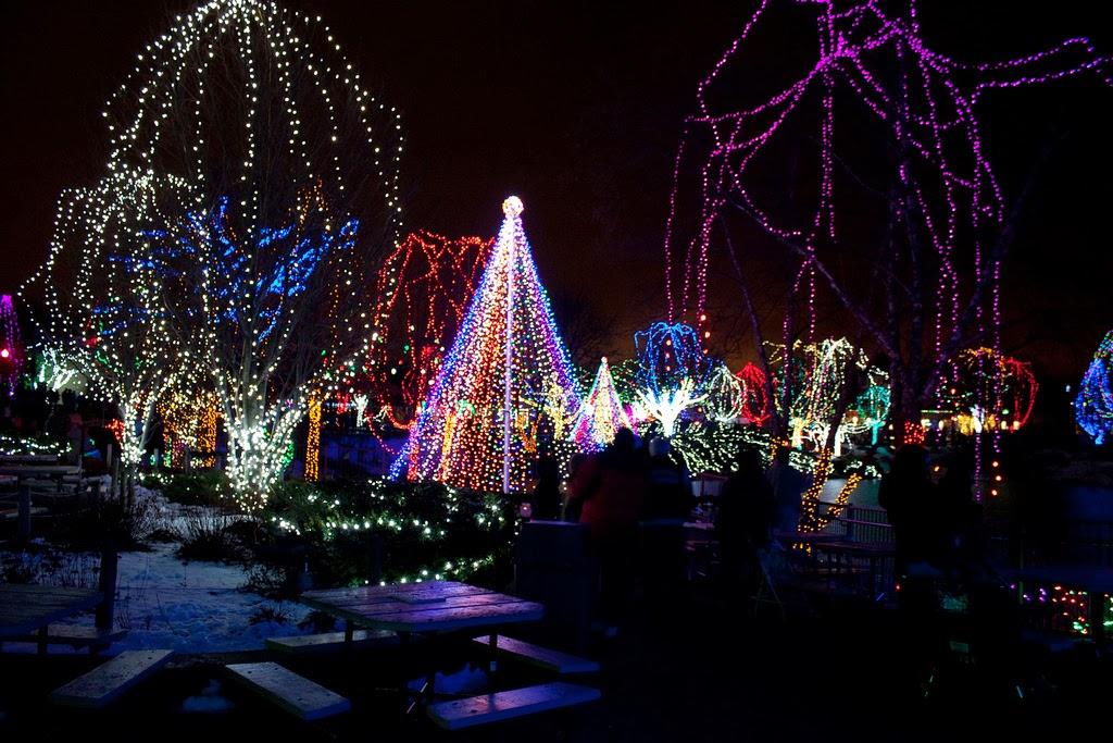 Columbus Zoo Christmas Lights 2017