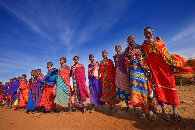 tribarte cores e beleza da 193frica