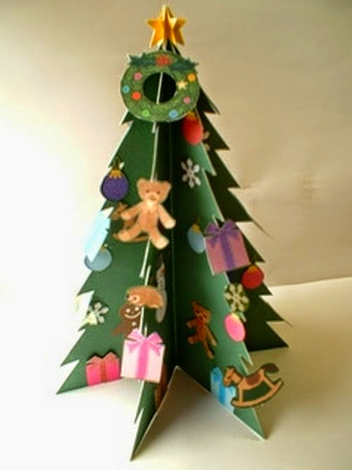 http://youlikeitmy.blogspot.com/2014/10/how-to-make-christmas-tree-at-home.html