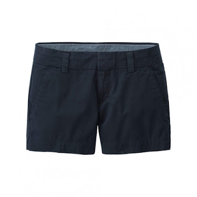 Black Chino Short from Uniqlo
