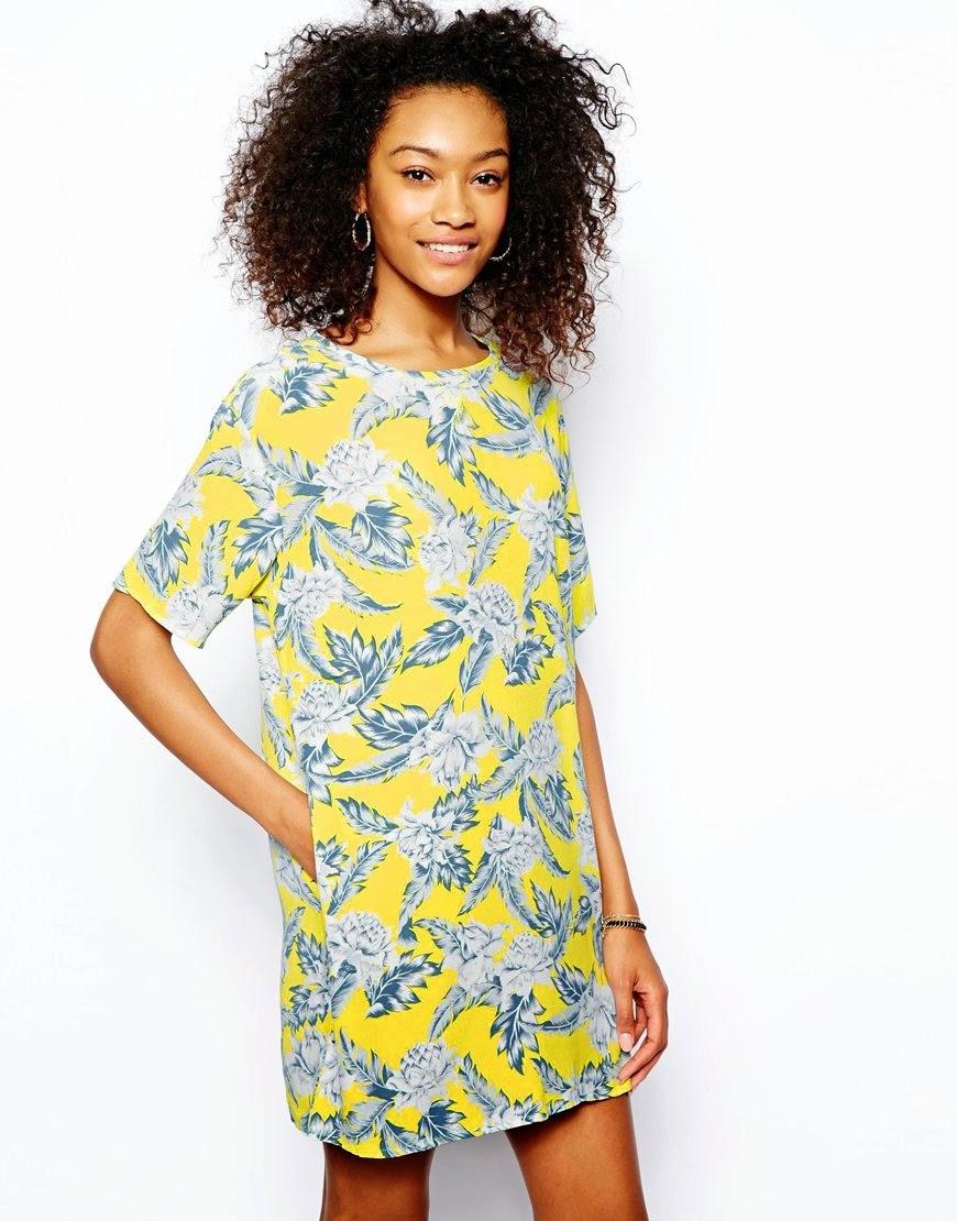 motel yellow dress