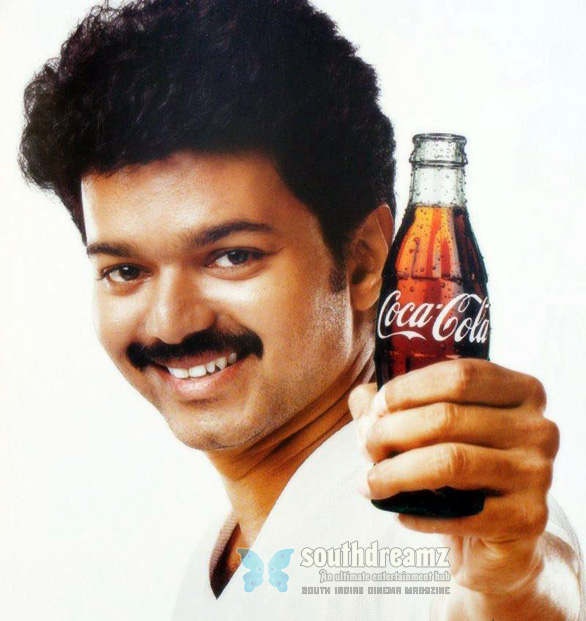 Vijay in Coca cola AD