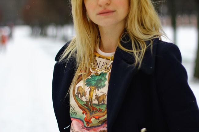 winter look, зимний лук,модный лук,зима 2013