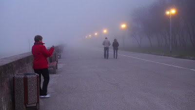 mgła nad morzem gdynia