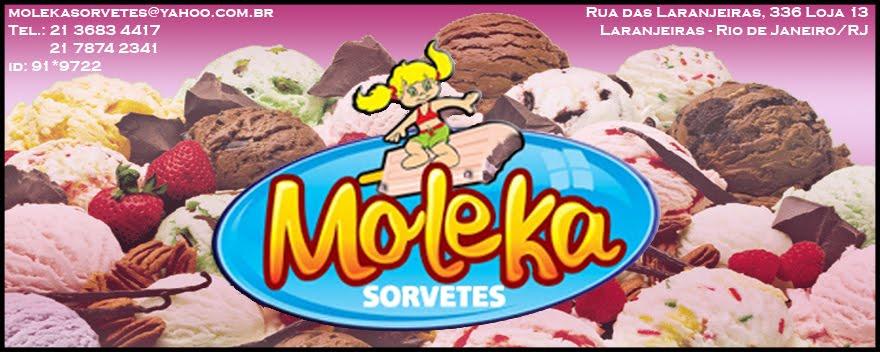 SORVETES MOLEKA