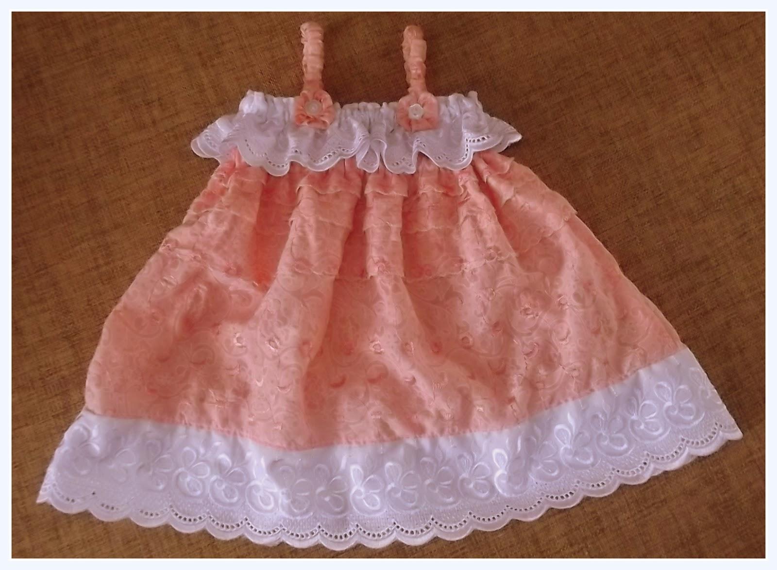 Как строится выкройка: платье для девочки 1 год 8