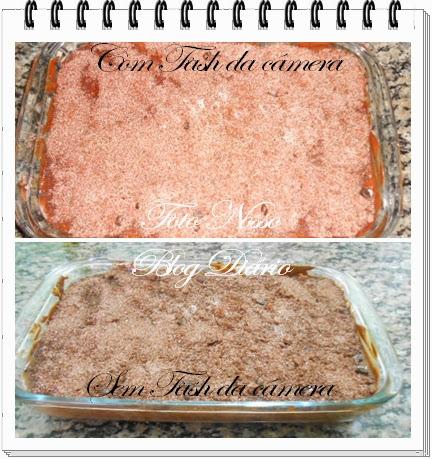 Pavê de Amendoim. Foto Nosso Blog Diário. Dulcinéia de Sá