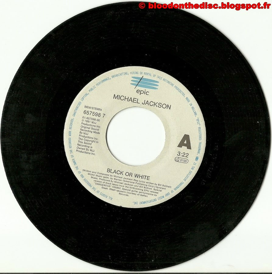 Black Or White 45T Side 1