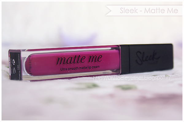 Review & Swatch : Sleek - Matte Me Fandango Purple