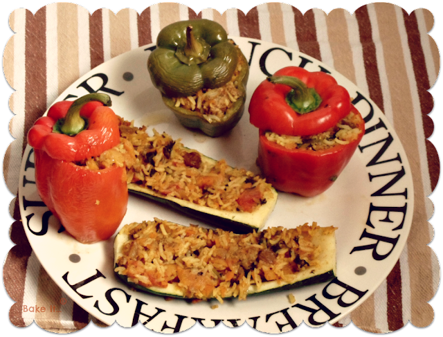 jenny morris saharan stuffed peppers recipe