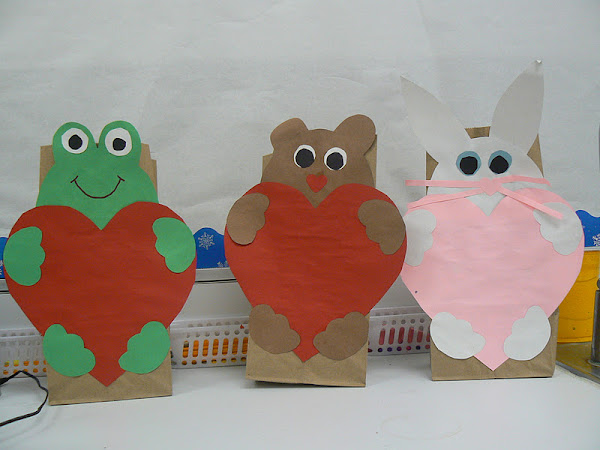 First Grade Valentine Bag