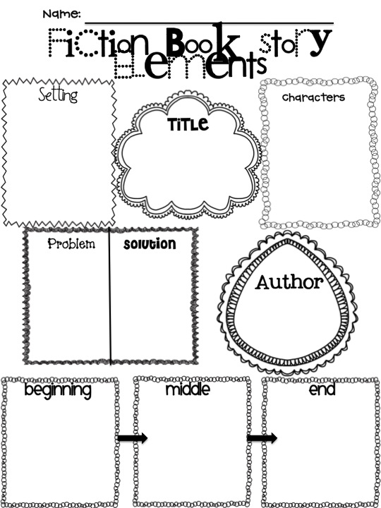 book report story elements