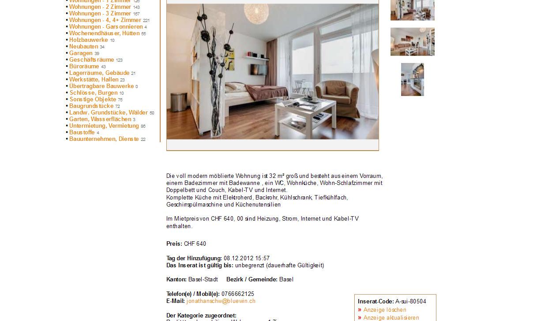 Jonathanschw for Wohnungssuche zu mieten