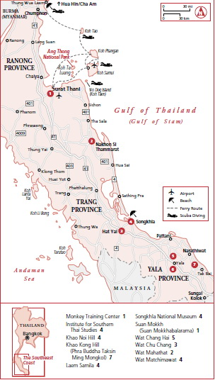 Thailand Traveling Guide Southern Peninsula The East Coast Islands