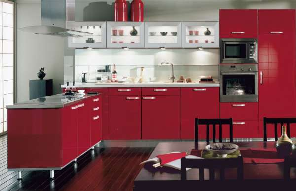 Cuisine en aluminium comptoir armoire moustiquaire for Porte cuisine aluminium