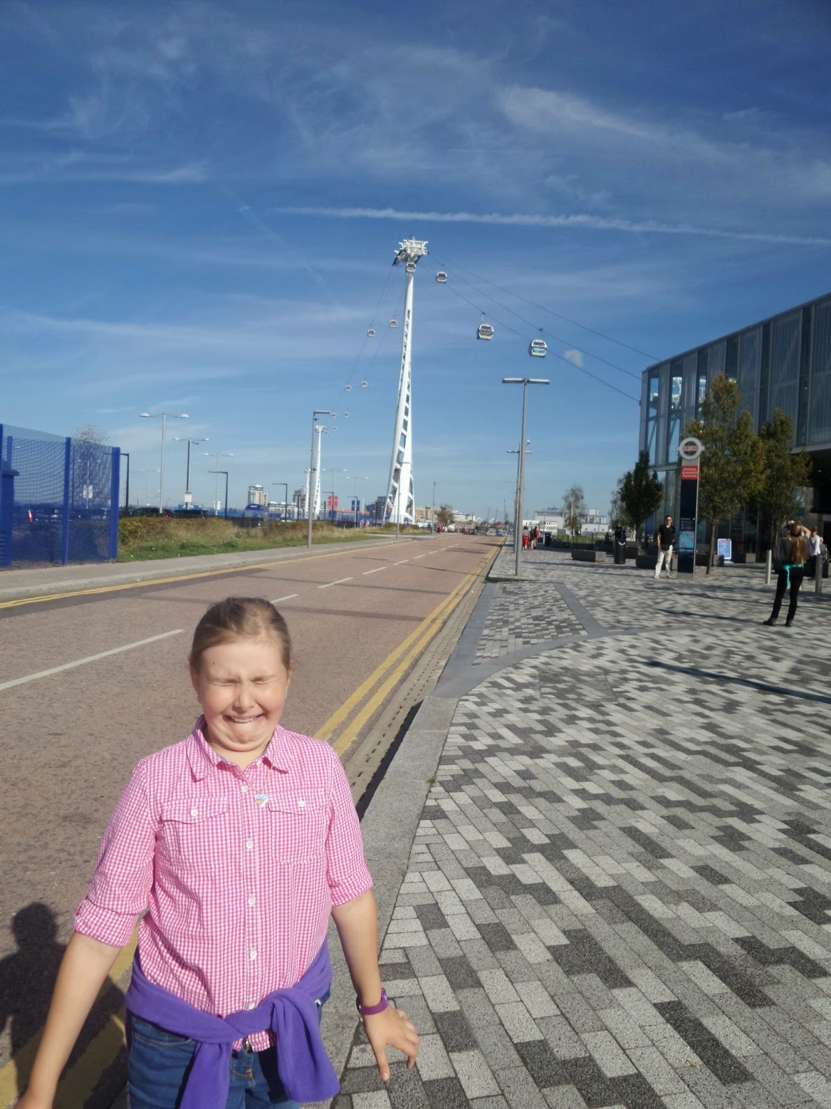 Top Ender worried about going on the Emirates Air Line