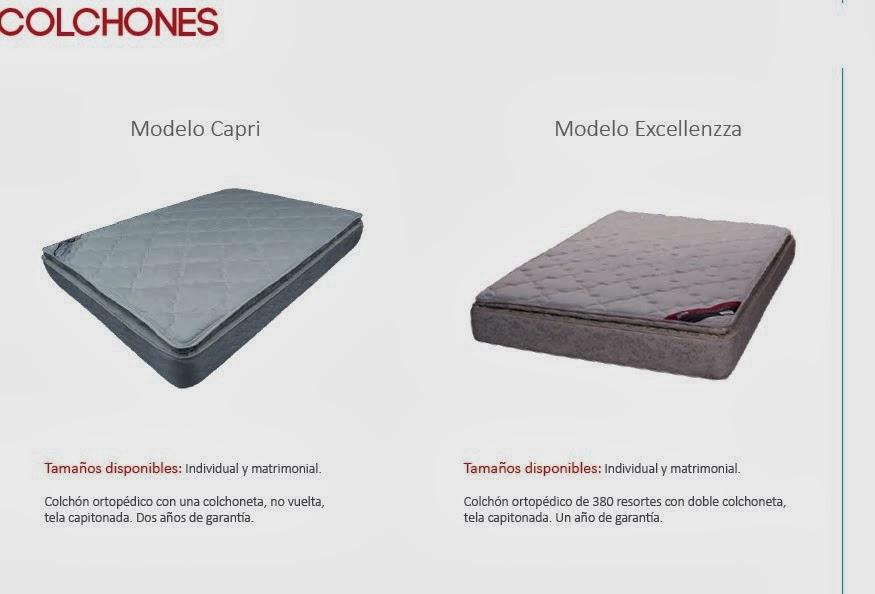 Muebles azteca colchones for Colchones para cama matrimonial