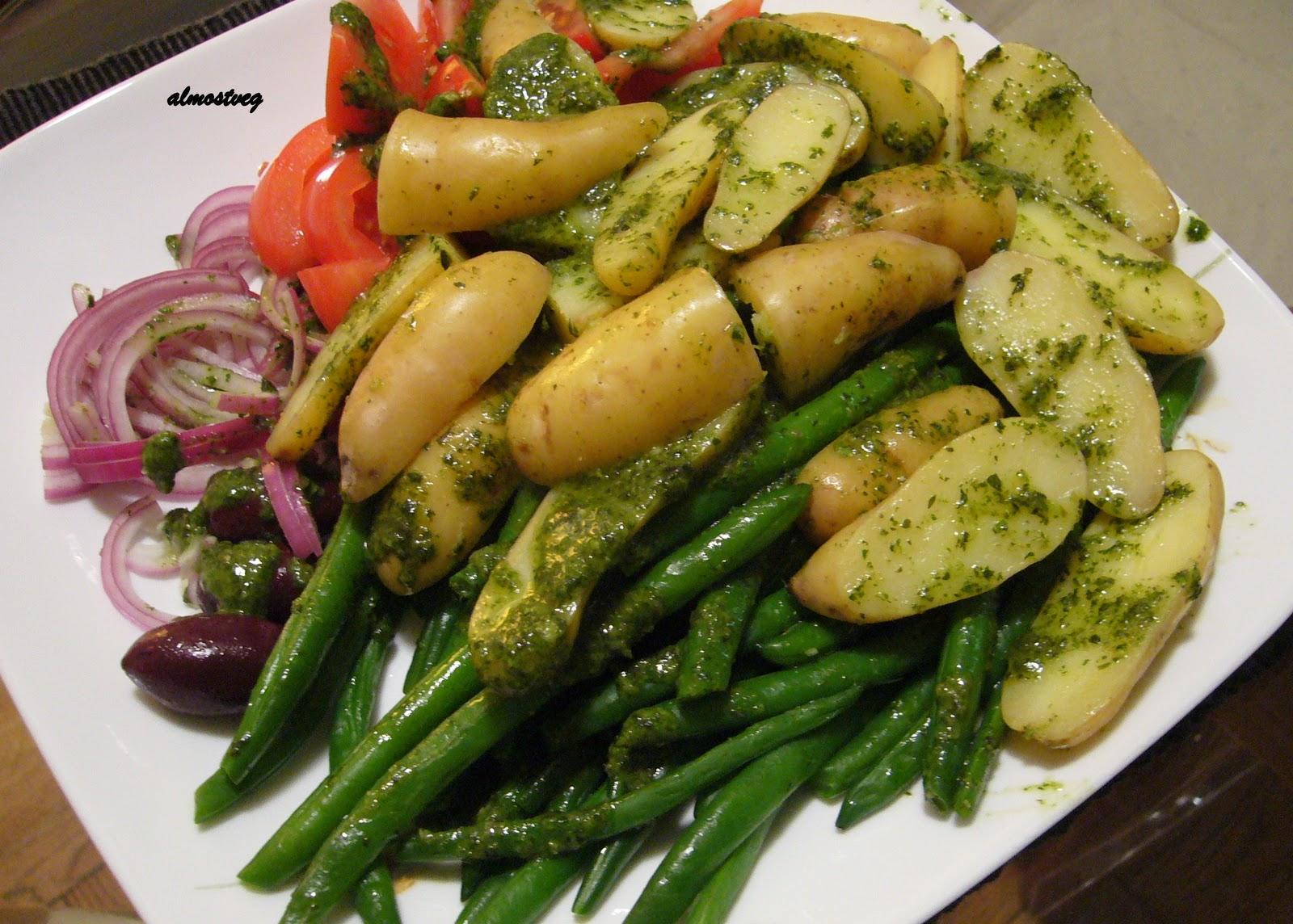 Nicoise salad without Tuna