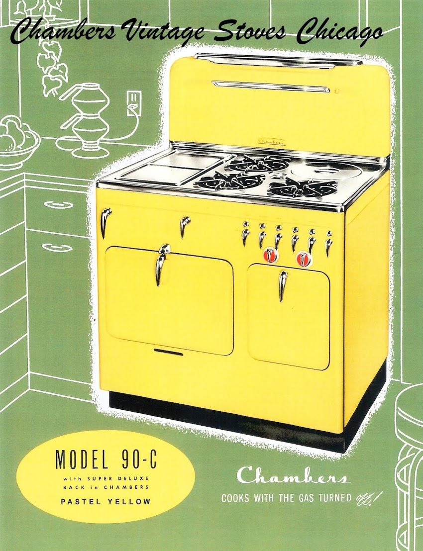 CHAMBERS VINTAGE STOVES CHICAGO