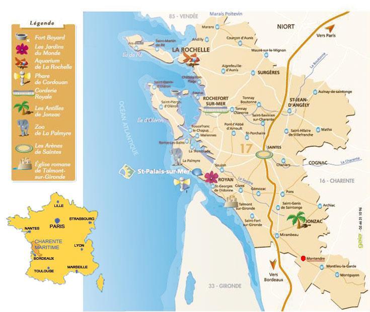Mon stage l 39 office de tourisme de montendre la ville de montendre - Saint palais sur mer office du tourisme ...