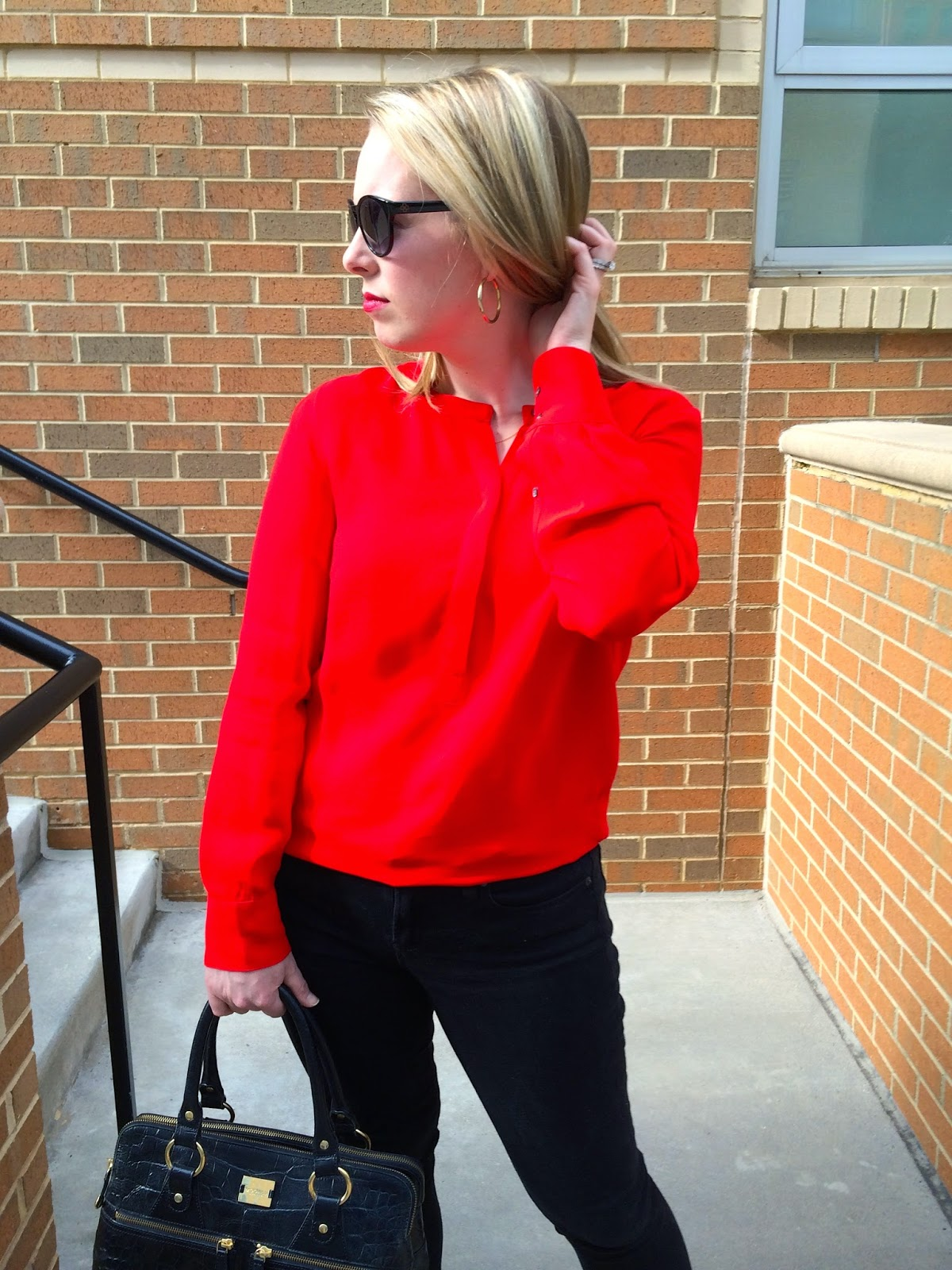 red-J.Crew-blouse