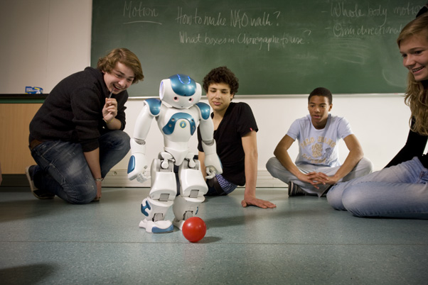 NAO Robot Helps Children