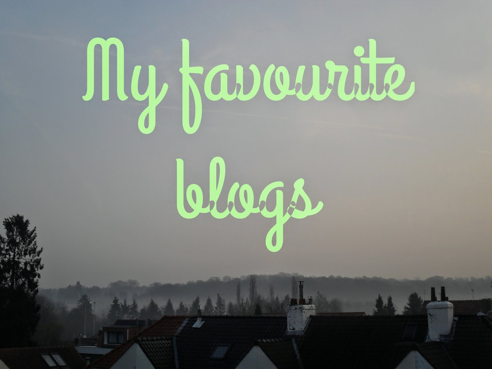 Blogs que j'aime…
