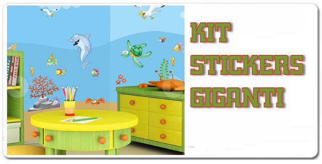 Kit Stickers Giganti
