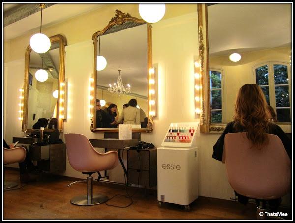 Salon Coiffirst Saint Germain des Prés  rue Dufour Paris 6ème manucure Essie