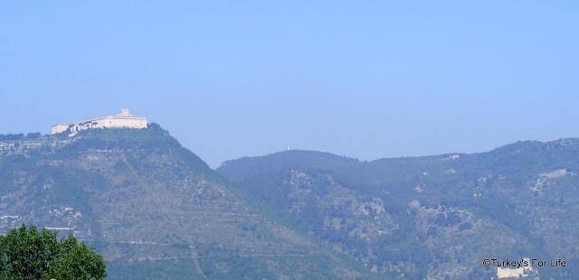 Castle Hill & Monte Cassino, Lazio, Italy