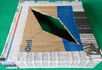 kerajinan tangan dari barang bekas, daur ulang kertas koran dan cara membuatnya