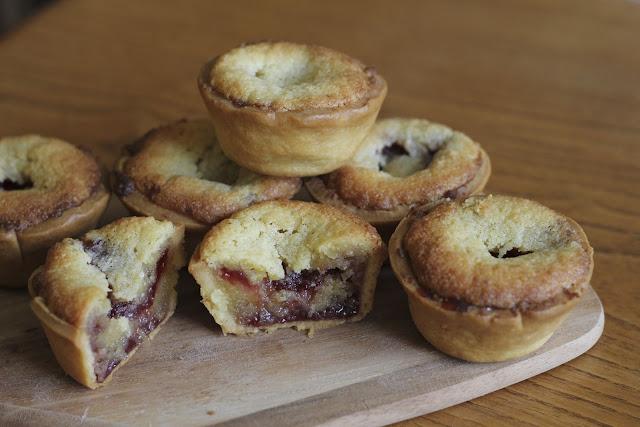 frangipane, almond, tart, mini, pastry, ground, pre bake, strawberry, wild, cherry, bake, patisserie, sweet, dessert