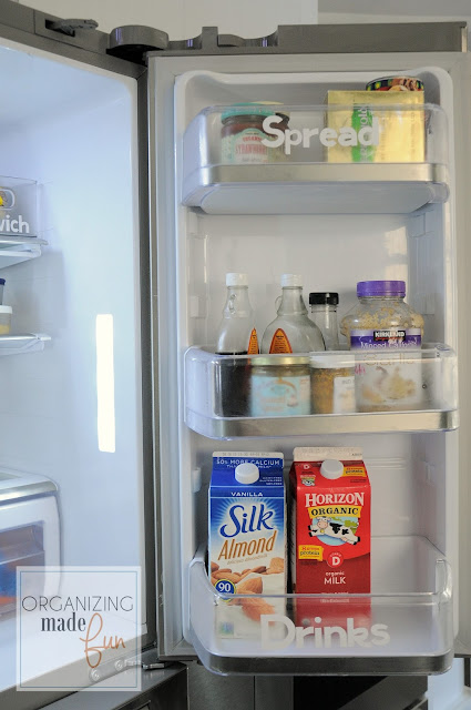Labeling in the fridge :: OrganizingMadeFun.com