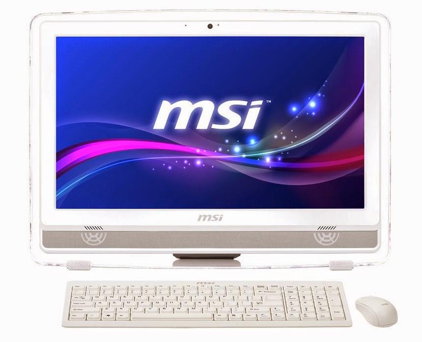 моноблок в белом цвете MSI AE220