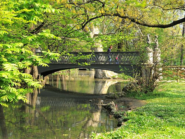 milano parco sempione, ponte delle Sirenette