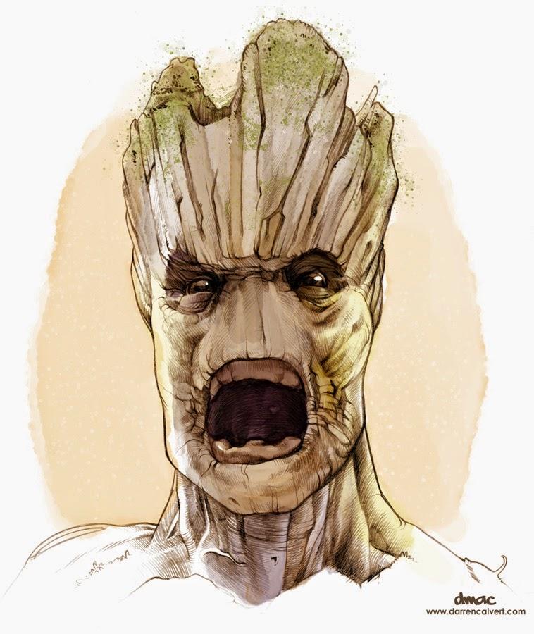 fashion  action groot guardians   galaxy art gallery