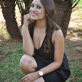 Prabhjeeth Kaur Hot Photo Gallery in Short Dress at Intelligent Idiot Movie Logo Launch 19