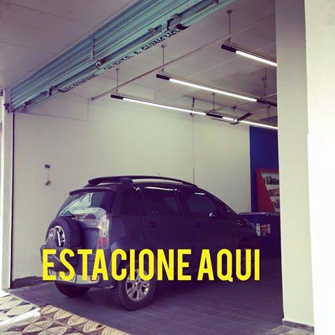 Estacione na loja!
