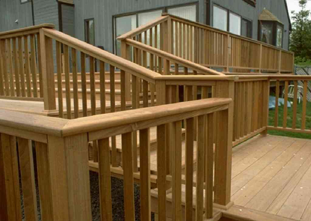 Patio deck railing design february 2012 for Best timber for decking