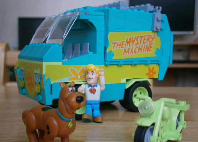 scooby doo lego playset mystery machine truck