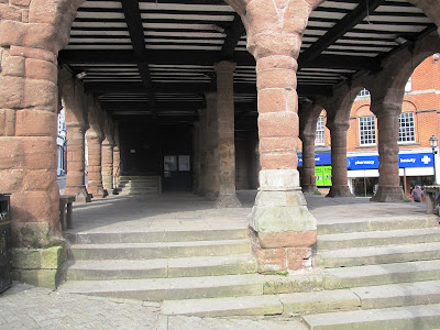 stone market at Ross on Wye